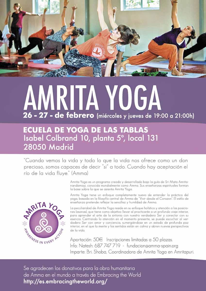 Amrita yoga 2020feb madrid