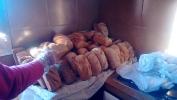 Domingo de pan en el Centro Amma