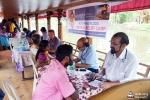 Equipos médicos desplazados a zonas rurales anegadas por las inundaciones de Kerala