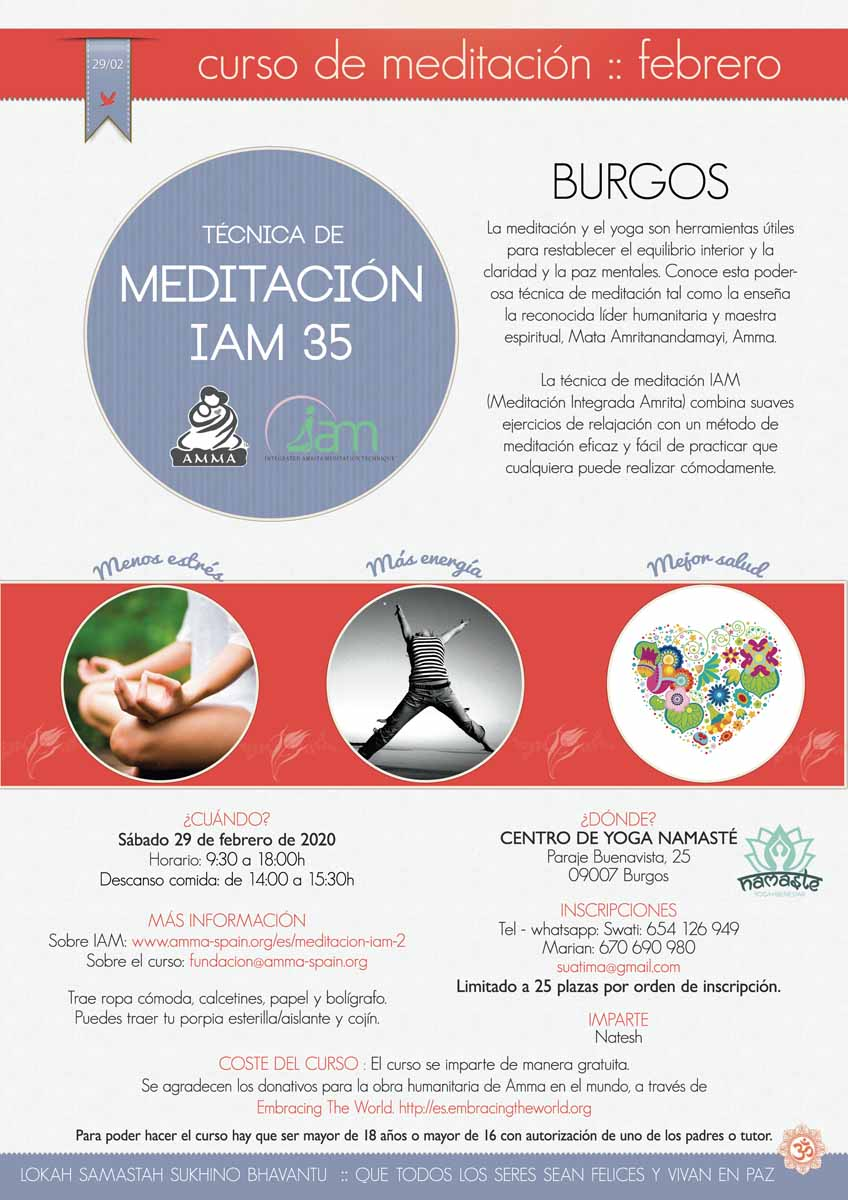 CURSO DE MEDITACION IAM BURGOS