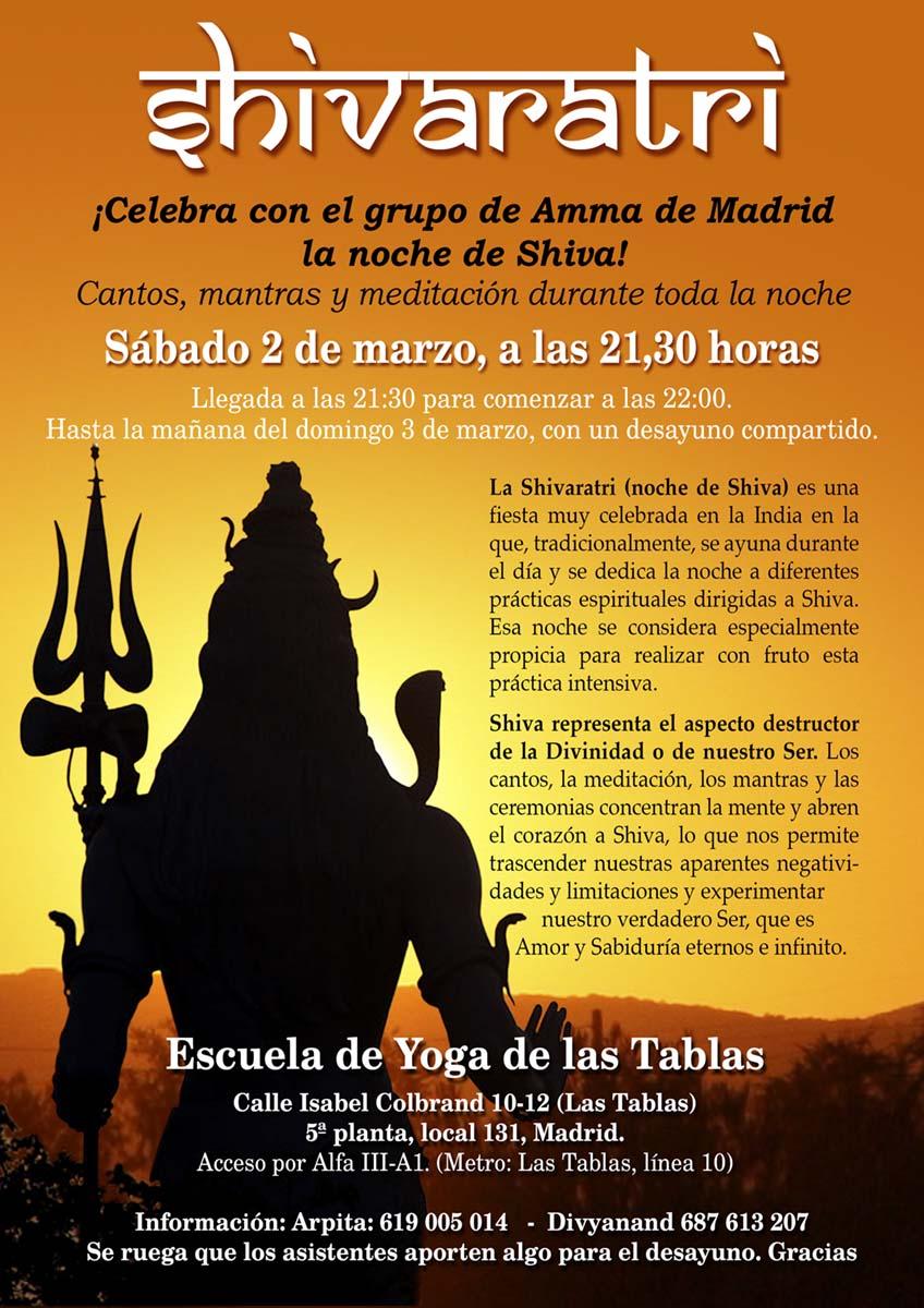SHIVARATRI MADRID