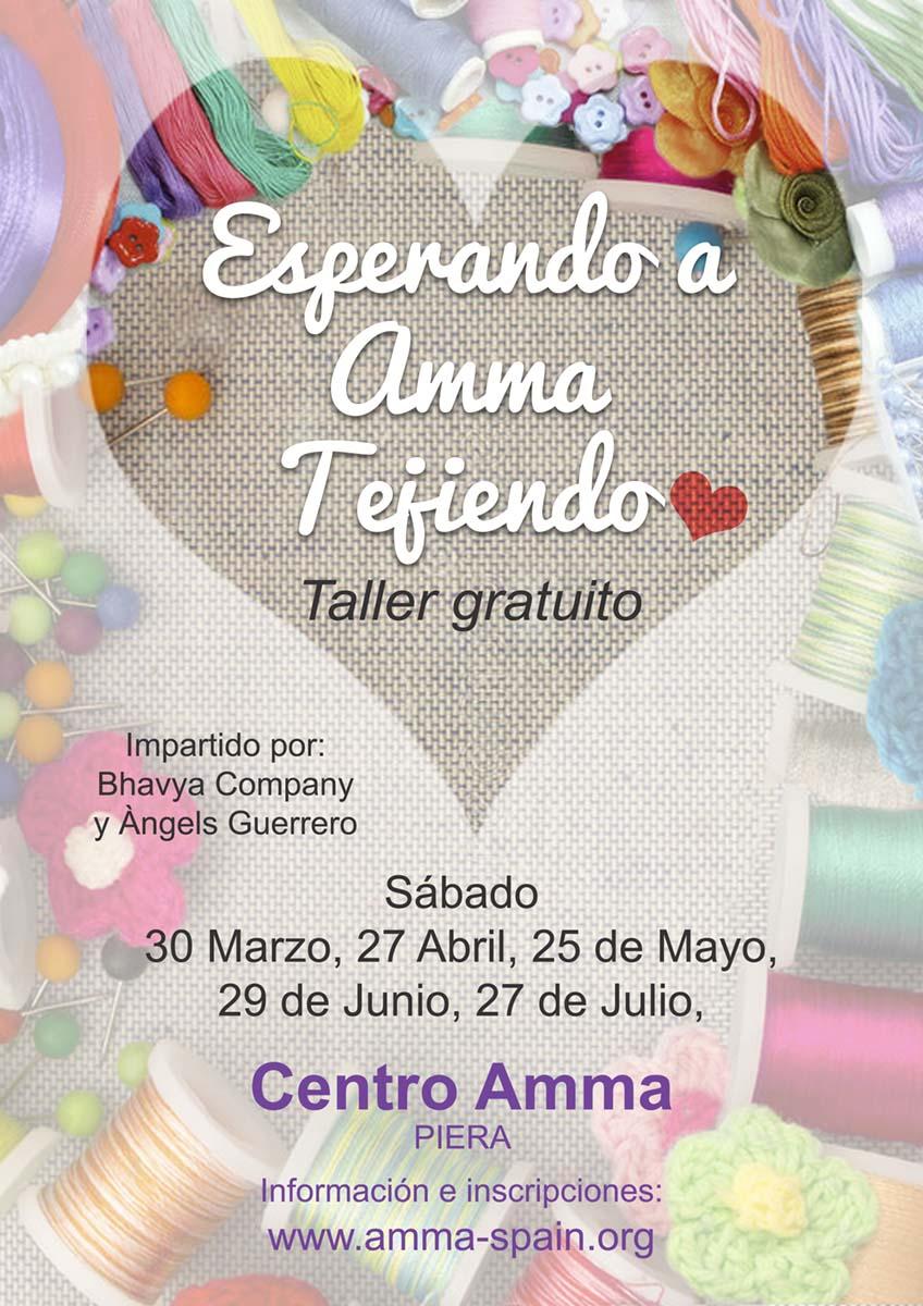 TALLER DE RECICLAJE ESPERANDO A AMMA TEJIENDO